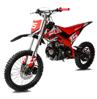 Motos e mini motos de vários modelos e cilindradas para adultos e crianças