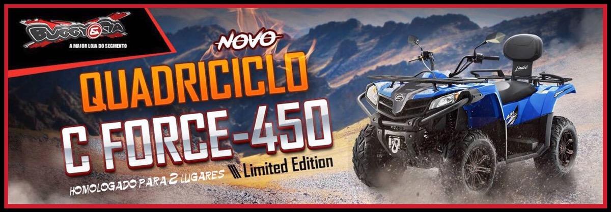 C Force 450cc 4x4