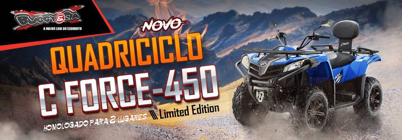 C Force 450cc 4x4