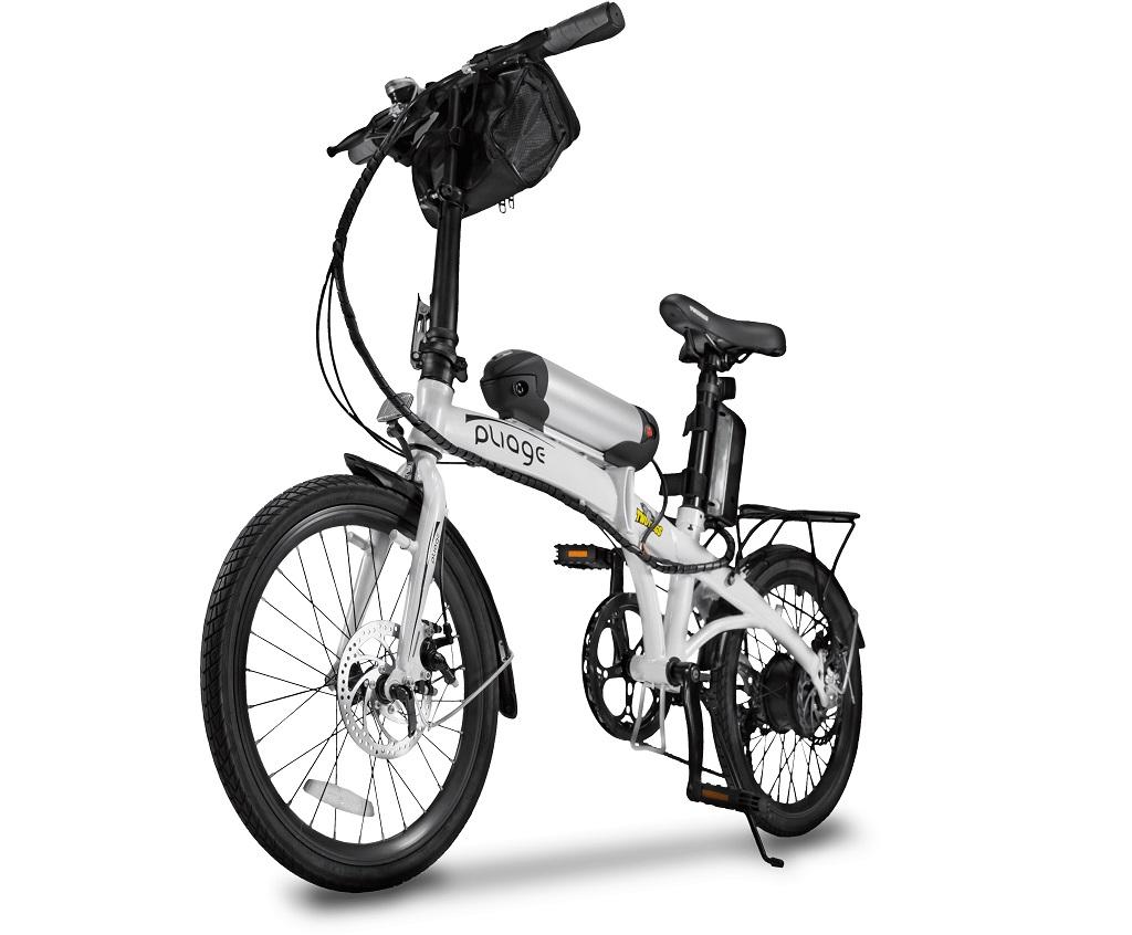 Bicicleta Dobrável Pliage Elétrica