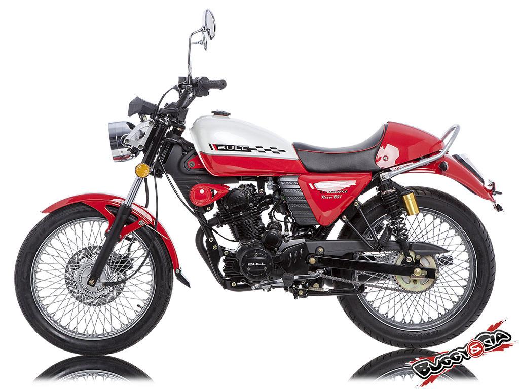 moto caf racer 200cc vermelha. Black Bedroom Furniture Sets. Home Design Ideas