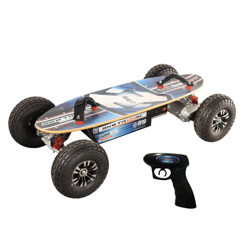 Skate Elétrico Sk8tronik Twiin Tech 1600w